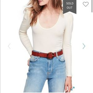Free people hey lady long sleeve tee
